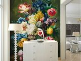 3d Mural Wall Hanging Fashion Interior Flower Design Oil Painting 3d Mural Wallpaper Hotel