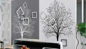 3d Murals On Walls Großhandel 3d Wall Paper Rolls Wallpaper Für Wände 3d Murals Hd Schwarzweiss Baum Einfache 3d Tv Hintergrundbild Heimwerker Arkadi Von Arkadi $30 85