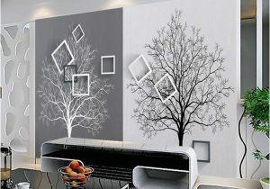 3d Photo Wall Murals Großhandel 3d Wall Paper Rolls Wallpaper Für Wände 3d Murals Hd Schwarzweiss Baum Einfache 3d Tv Hintergrundbild Heimwerker Arkadi Von Arkadi $30 85
