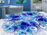 3d Wall and Floor Murals 3d Floor Customized Wallpaper 3d Floor Murals Creative Blue