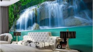 3d Waterfall Wall Mural 3d Waterfall Pool Design Wallpaper for Walls Wall Mural
