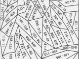 3rd Grade Coloring Pages Hard Color by Number Printables
