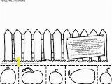 5 Little Pumpkins Sitting On A Gate Coloring Page Five Little Pumpkins Craft Going to Add Questions About the Poem