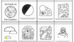 7 Days Of Creation Coloring Pages Pdf 7 Days the Creation Story Coloring Sheets