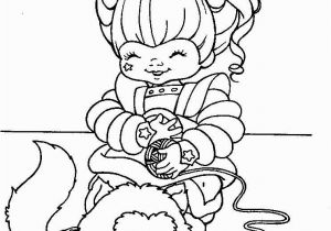80 S Rainbow Brite Coloring Pages Rainbow Brite Coloring Pages