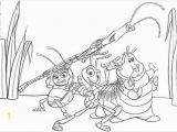 A Bug S Life Coloring Pages Disney Free Coloring Sheet Of A Bugs Life for Children