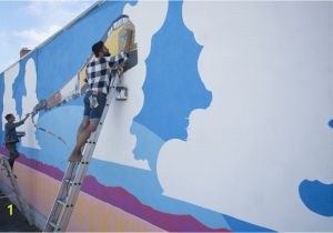 A Building Has A Mural Painted On An Outside Wall Quick Tips On How to Paint A Wall Mural