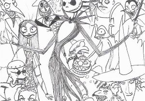 A Nightmare before Christmas Coloring Pages Jack Skellington Malvorlagen the Nightmare before Christmas Coloring