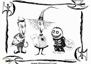 A Nightmare before Christmas Coloring Pages the Nightmare before Christmas Coloring Pages Beautiful Www Coloring