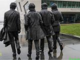 "Abbey Road Wall Mural Liverpool Ferry Cross the Mersey"" Zu Besuch In Liverpool Bei Den"