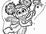 Abby Cadabby Coloring Pages to Print Abby Cadabby 1 Coloring Page