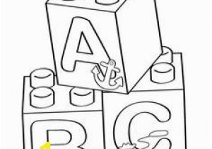 Abc Blocks Coloring Pages 41 Best Lego Coloring Pages Images On Pinterest