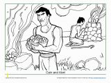 Abel and Cain Coloring Pages Abel Archives Children S Bible Activities
