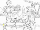 Abel and Cain Coloring Pages Just Coloring Cain and Abel Coloring Pages Free