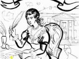 Abigail Adams Coloring Page Remembering the La S