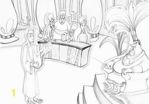 Abinadi Coloring Page Book Of Mormon Abinadi Coloring Page Teaching Aid Primary