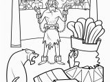 Abinadi Coloring Page Line Coloring Lds Inspirationa Abinadi and King Noah