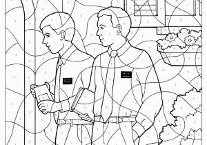 Abinadi Coloring Page Missionaries