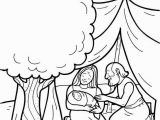 Abraham and Sarah Coloring Pages Sunday School Abraham and Sarah Baby Coloring Page Google Search