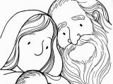 Abraham and Sarah Coloring Pages Sunday School Baby isaac Colouring Page