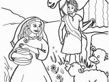 Abraham and Sarah Coloring Pages Sunday School isaac Marries Rebekah