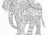 Abstract Elephant Coloring Pages for Adults 23 Elephant Coloring Pages