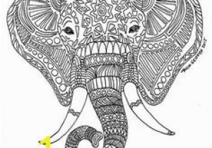 Abstract Elephant Coloring Pages for Adults Pin by Melanie Kie On Adult Coloring Book Pinterest