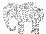 Abstract Elephant Coloring Pages for Adults Willpower Abstract Elephant Coloring Pages for Adults asian Bing