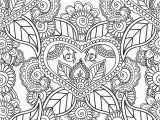 Abstract Flower Coloring Pages for Adults Coloring Pages for Adults Seamles Henna Mehndi Doodles