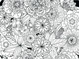 Abstract Flower Coloring Pages for Adults Detailed Coloring Pages for Adults Fairy Intricate – Wiggleo