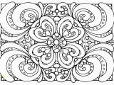 Abstract Flower Coloring Pages for Adults Free Coloring Page Coloring Adult Patterns Zen Coloring