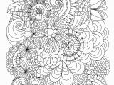 Abstract Flower Coloring Pages for Adults the Coloring Book Album Elegant S Flowers Abstract