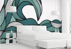 Abstract Wall Mural Designs Wall O Water Striking My Random Fancy
