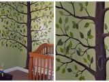 Abstract Wall Mural Ideas Lady Create A Lot Easy Abstract Tree Mural