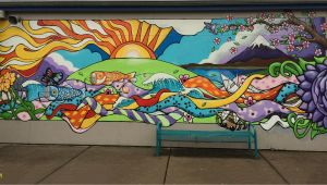 Acrylic Paint for Murals On Walls Elementary School Mural Google Search