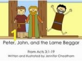 Acts 3 1 10 Coloring Page 55 Best Peter & John Lame Man Healed Images On Pinterest