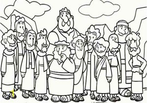 Acts Of the Apostles Coloring Pages Cartoon Od Jesus Disciples Coloring Page Coloring Pages Jesus