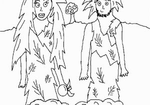 Adam and Eve In the Garden Of Eden Coloring Pages Best Adam and Eve Color Sheets Coloring Pages