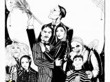 Addams Family Coloring Pages Addams Family Special Sale Fer 11×17 Poster by