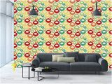 Adhesive Wall Decor Mural Sticker Amazon Wall Mural Sticker [ Abstract Colorful