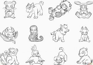 Adorable Baby Animal Coloring Pages Best Cute Baby Animal Coloring Pages Elegant New Od Dog Coloring