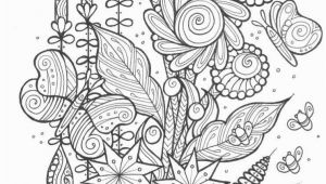 Adult Coloring Page butterfly butterflies and Bees Adult Coloring Page