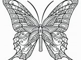 Adult Coloring Page butterfly Coloring Pages Free butterfly Coloringages for Adults