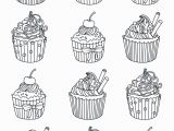 Adult Coloring Pages Cupcakes Coloring Book Incredible Free Easy Adult Coloring Pages
