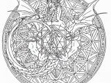 Adult Coloring Pages Dragons Pinterest