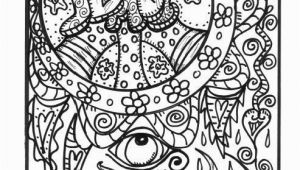 Adult Coloring Pages Hippie Free Coloring Pages for Adults 8 Funky From Hippie