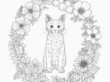 Adult Coloring Pages Kittens Adult Coloring Pages Cat Coloring Chrsistmas