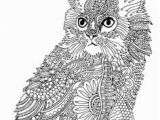 Adult Coloring Pages Kittens Free Printable Coloring Pages for Adults 12 More Designs