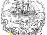 Adult Coloring Pages Nautical Best Downloads and Sketches Images On Pinterest