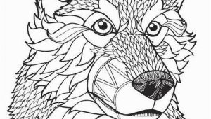 Adult Coloring Pages Of Wolves Wolf Coloring Pages for Adults Beautiful Wolf Coloring Page 8